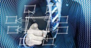 Mitarbeiter in der digitalen Welt